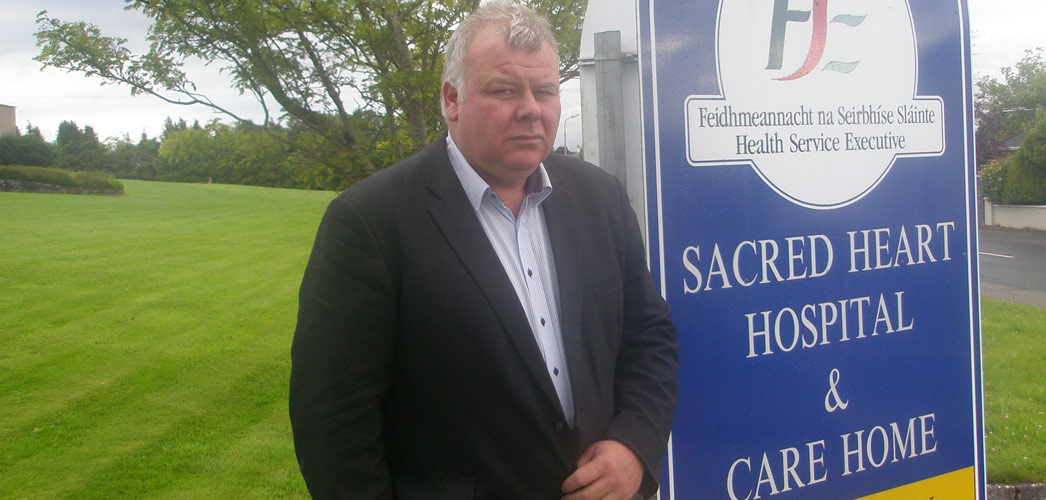 Michael Fitzmaurice at the Sacred Heart Hospital & Care Home, Roscommon